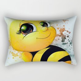 Baby Bee Rectangular Pillow