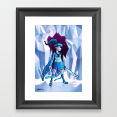 Pluto Princess Framed Art Print