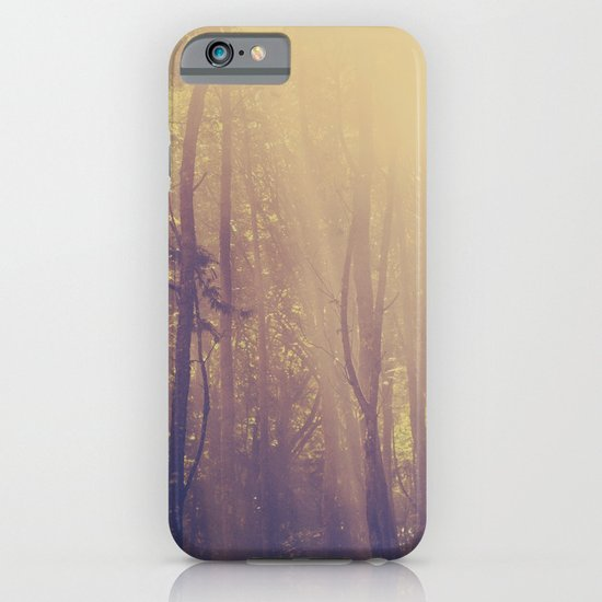 Sunbeams in the Forest iPhone & iPod Case