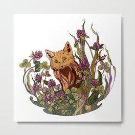 Foxhole Metal Print