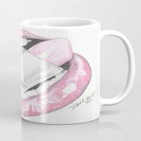 mac Mugs featuring MAC LIPS by RJsART