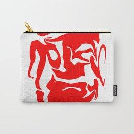 face3 red Carry-All Pouch