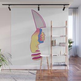 Knifed Wall Mural