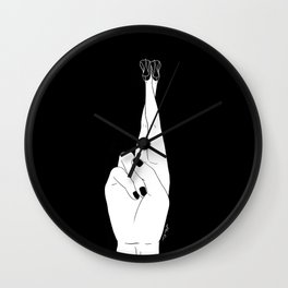 Good Luck Wall Clock
