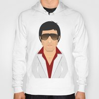 montana Hoodies featuring Tony Montana by Capitoni