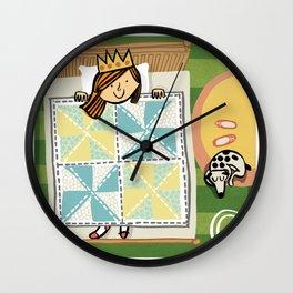 """""""Q"""" Wall Clock"""