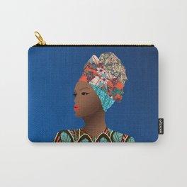 Bilene, Mozambique Capulana Lady Carry-All Pouch