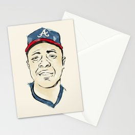 Hammerin' Hank Aaron Stationery Cards