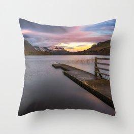 Glenade Lough in County Leitrim - Ireland (RR 260) Throw Pillow