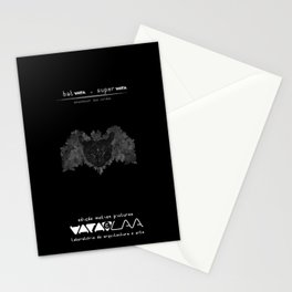 "Vaca - MP: ""Batvaca v Supervaca - Amanhecer das Cordas"" Stationery Cards"