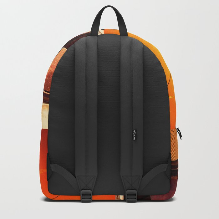Yacht at Sunset Backpack