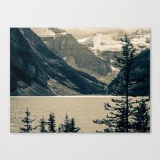 The Mountain Scene Canvas Print