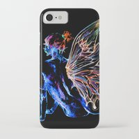 tinker bell iPhone & iPod Cases featuring Tinker Bell - My Glowing Love for You by Chien-Yu Peng