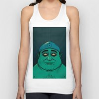 watchmen Tank Tops featuring It's Always Sunny in Watchmen - Frank by Jessica On Paper