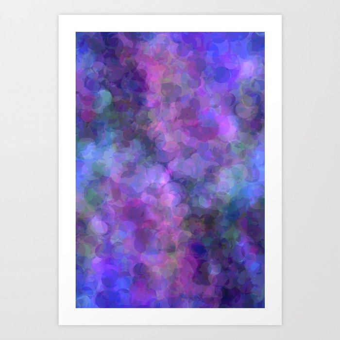 Blueberry Bubbles Kunstdrucke