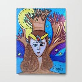 Elora the FairyQueen Metal Print