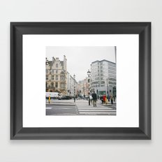 Downtown London Framed Art Print