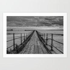 The Pier. Art Print