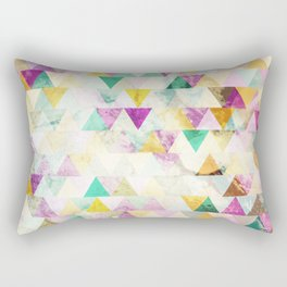Triangles madness Rectangular Pillow