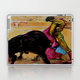 Fiesta de Toros in Spain Travel Laptop & iPad Skin