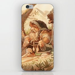 Dwarfen merchant iPhone Skin
