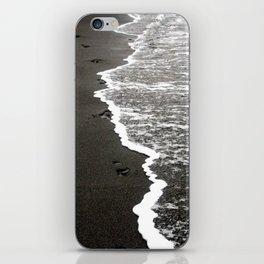 Black Sand Beach iPhone Skin