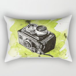 Vintage Camera - Rolleiflex Rectangular Pillow