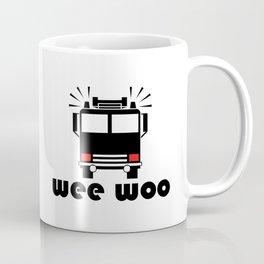 Wee Woo Fire Truck Coffee Mug
