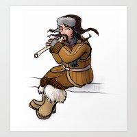 Bofur the Dwarf Art Print