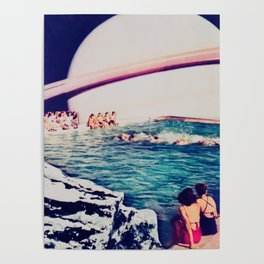 Spa of Saturn Poster