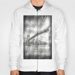 Brooklyn Bridge New York Vintage Hoody