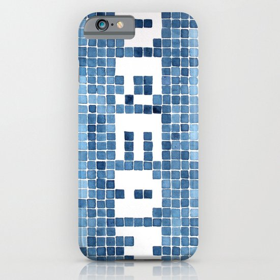 Dream watercolor mosaic typography iPhone & iPod Case