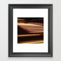 Inside the Baby Grand Framed Art Print