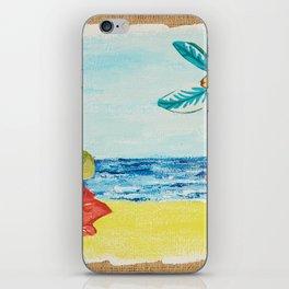 Brazilian beaches iPhone Skin