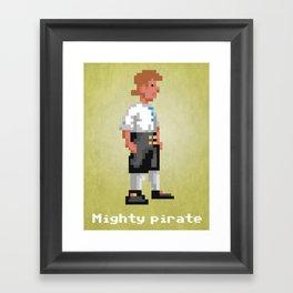 Mighty Pirate V2 Framed Art Print