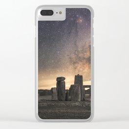 Stonehenge, Wiltshire - United Kingdom Clear iPhone Case