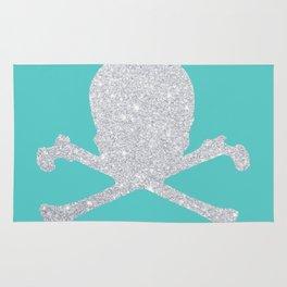 Shiny skull Rug