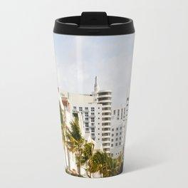 South Beach Vibes Travel Mug