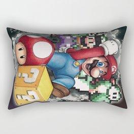 Mario et ses amis Rectangular Pillow