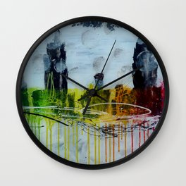Everyone's got his universe Wall Clock