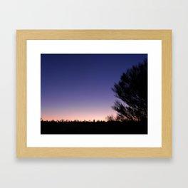 Northern Territory Sunset Framed Art Print