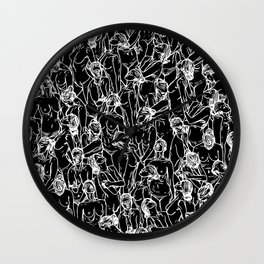 Unveiled II Wall Clock