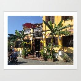 Lovely Streets of Hoi An Art Print