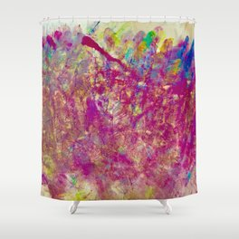 Intentions Acrylic Shower Curtain