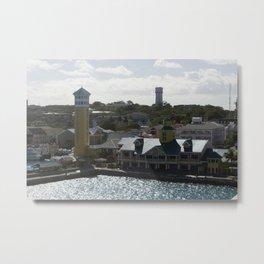Bahamas Cruise Series 110 Metal Print