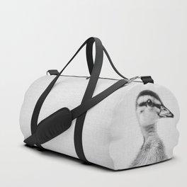 Duckling - Black & White Duffle Bag