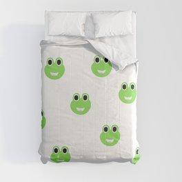 Green Frogs Comforters