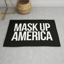 Mask Up America Rug