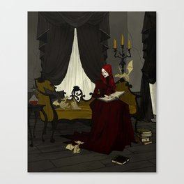 Storytime with Goblins Canvas Print
