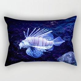 Sea World Lion Fish Rectangular Pillow